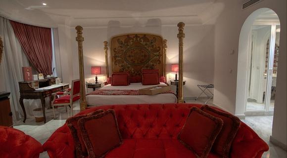 Rooms hotel la maison blanche tunis tunisia official for A la maison blanche